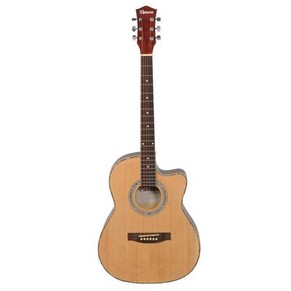 HavanaFA391C NAT Acoustic Guitar Cutaway Natural