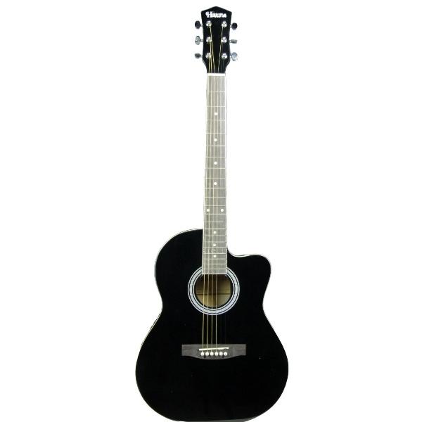 Havana AAG39C BK Acoustic Guitar Cutaway Black