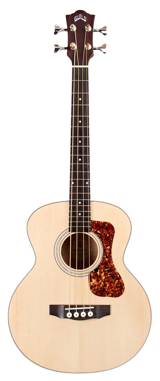Guild Jumbo Junior Semi Acoustic Bass Natural