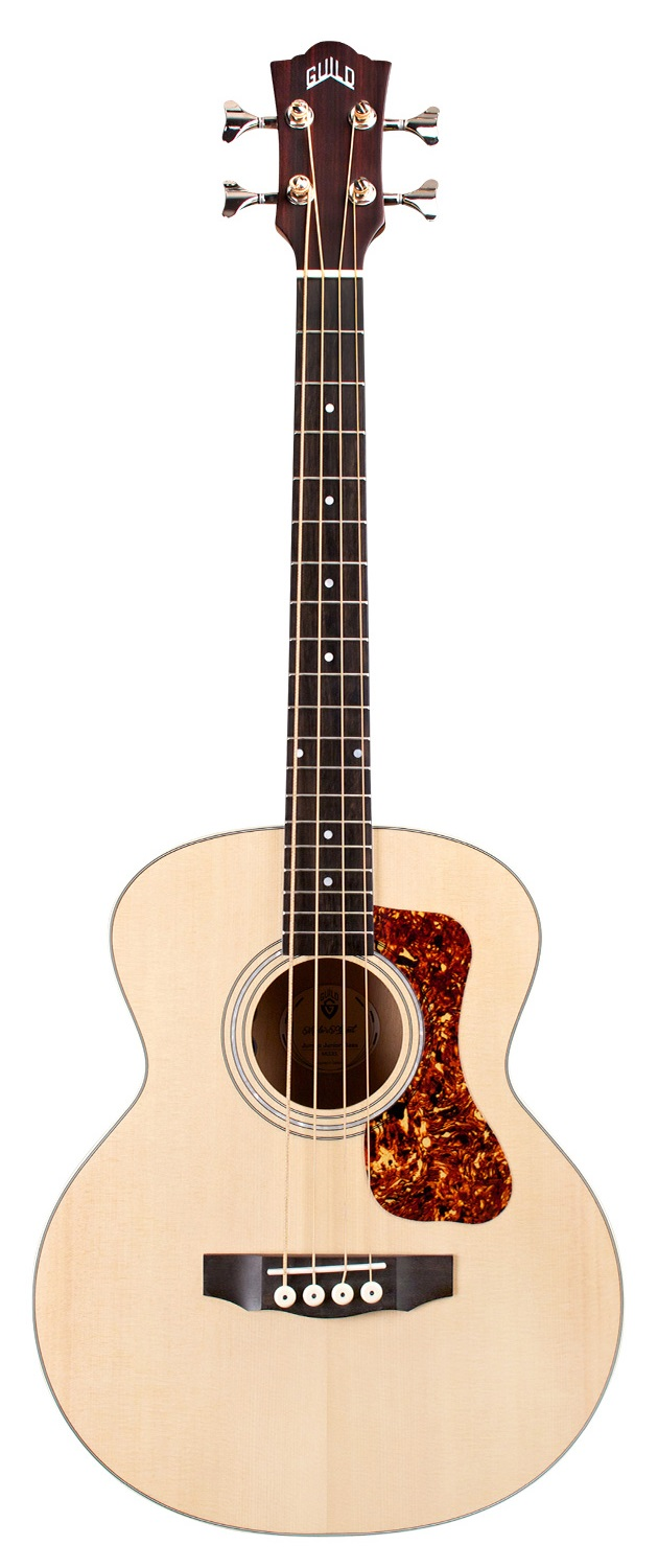 Guild Jumbo Junior Bass E SP/FM ANTA BLND Semi Acoustic Bass Flamed Maple Antique Blonde