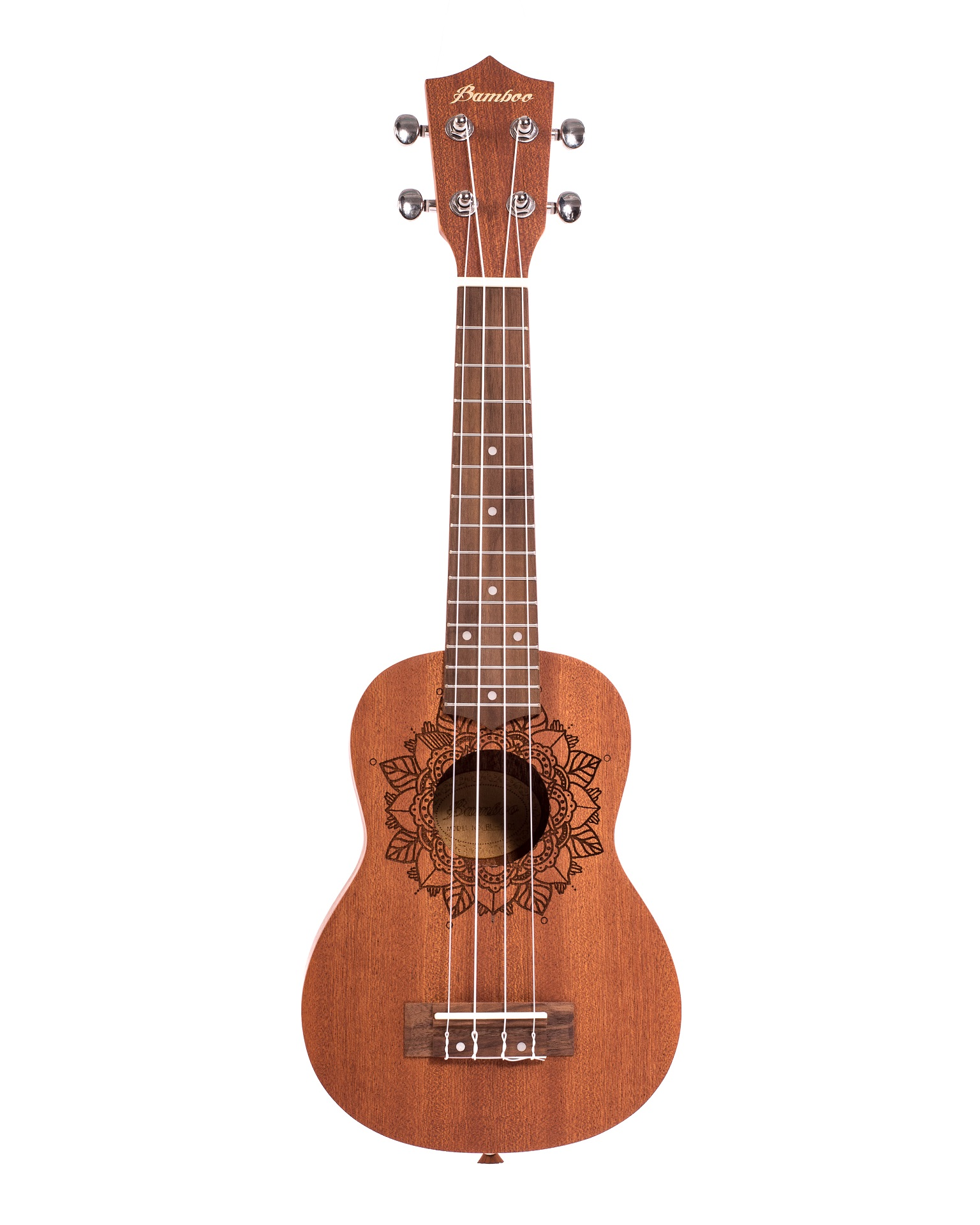 BAMBOO Kailua Concert Ukulele Earth Series Acoustic | For Beginners and Professionals | Sapele & Walnut | With Gig Bag (New Generation)