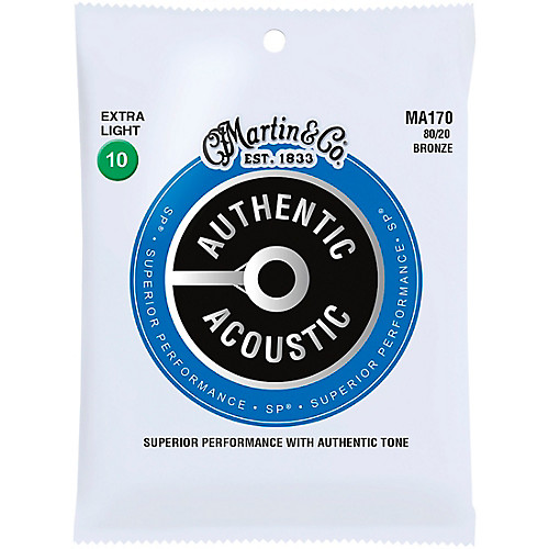 Martin MA170 Acoustic Guitar Strings Set Extra Light 10-47