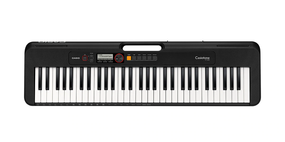 Casio CT S200 BK  Standard Electronic Keyboard Black