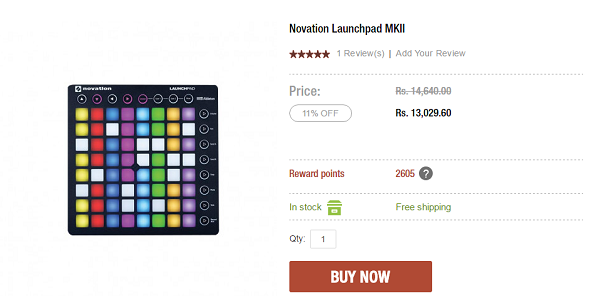 Buy Novation