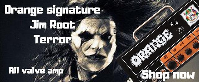 Orange Jim Root Signature Terror